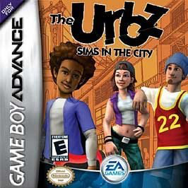 Urbz - Sims in the City - Game Boy Advance - Loose
