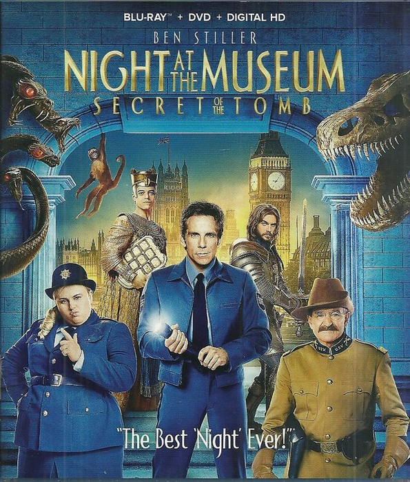 Night at the Museum: Secret of the Tomb - Blu-Ray