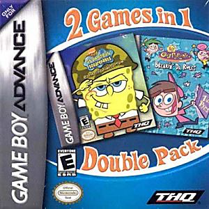 Fairly Oddparents and Spongebob Double Pack - Game Boy Advance - Loose