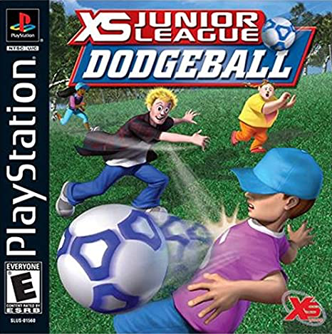 XS Junior League Dodgeball - Playstation 1 - Complete