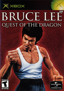 Bruce Lee - Quest of the Dragon - Xbox - in Case