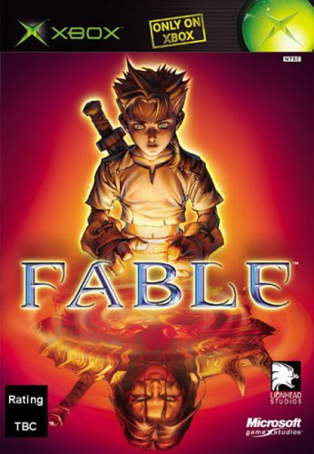 Fable - Xbox - in Case