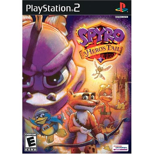 Spyro - A Hero's Tail - Playstation 2 - Complete