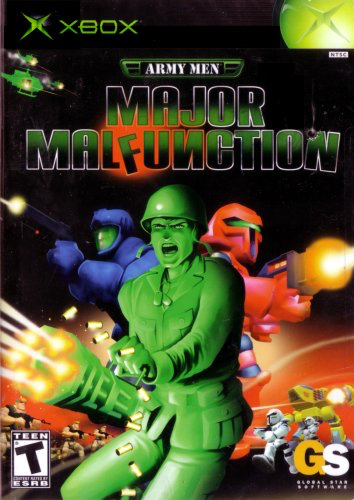 Army Men - Major Malfunction - Xbox - in Case