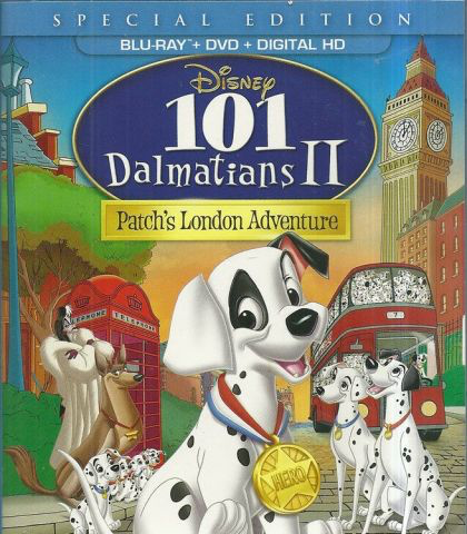 101 Dalmatians 2: Patch's London Adventure - Blu-Ray