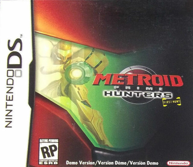 Metroid Prime Hunters - First Hunt Demo - DS - in Case