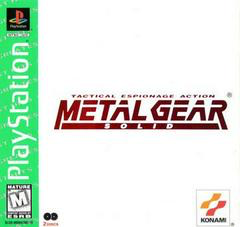 Metal Gear Solid - Greatest Hits - Playstation 1 - Complete