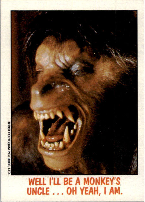 Fright Flicks 1988 - 24 - An American Werewolf in London - Well I'll Be a Monkey's Uncle...Oh Yeah, I Am.