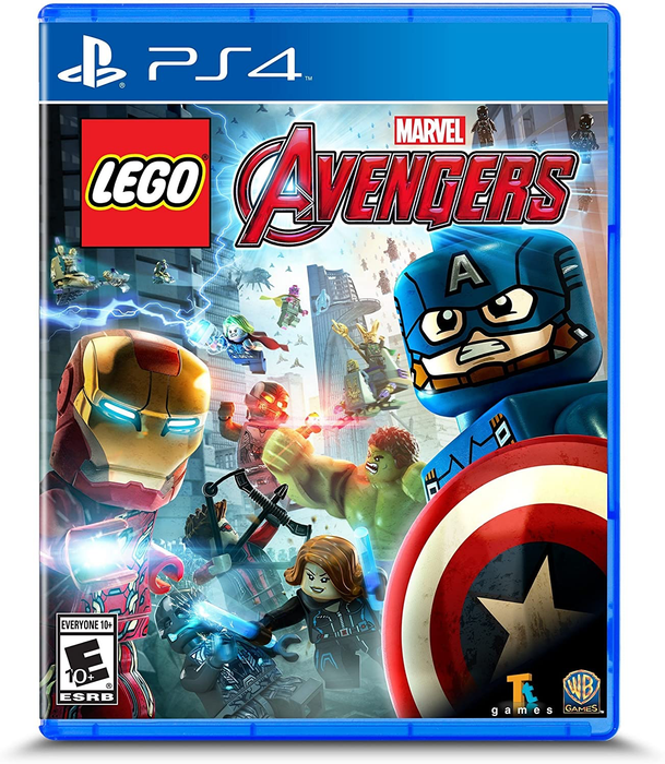 LEGO Marvel Avengers - Playstation 4 - in Case