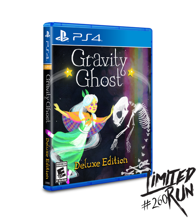 Gravity Ghost - Limited Run #260 - Playstation 4 - Sealed
