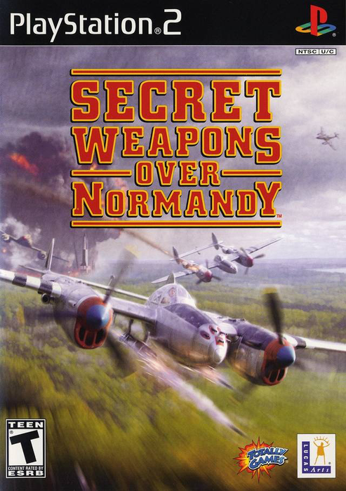 Secret Weapons Over Normandy - Playstation 2 - Complete