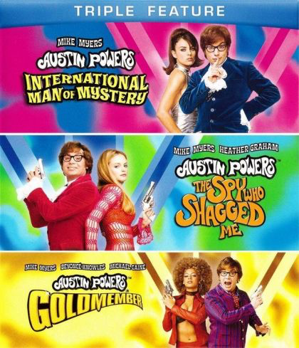 Austin Powers: International Man of Mystery Triple Feature - Blu-Ray