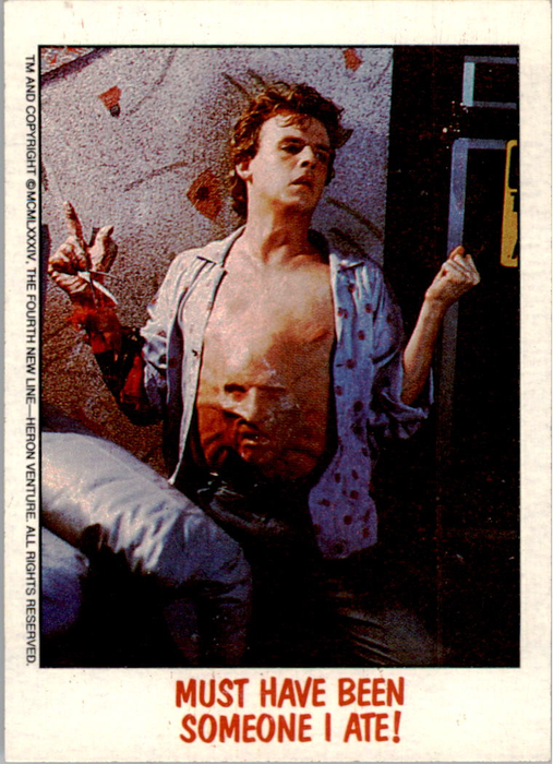 Fright Flicks 1988 - 15 - Nightmare on Elm Street II - Must Have Been Someone I Ate!