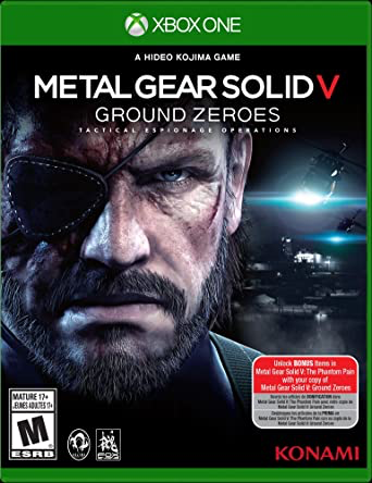 Metal Gear Solid V - Ground Zeroes - Xbox One - in Case