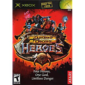 Dungeon and Dragons Heroes - Xbox - in Case
