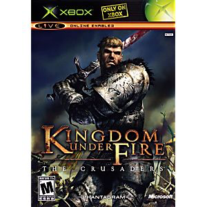 Kingdom of Fire - The Crusaders - Xbox - in Case