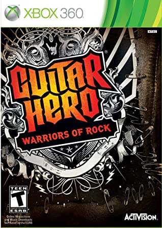 Guitar Hero Warriors of Rock - Xbox 360 - in Case