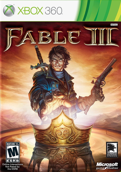 Fable III - Xbox 360 - in Case