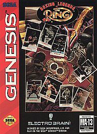 Boxing Legends of the Ring - Genesis - Loose