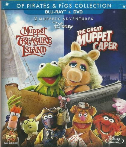 Muppet Treasure Island and The Great Muppet Caper - Blu-Ray