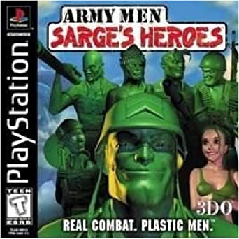 Army Men Sarge's Heroes - Playstation 1 - Complete