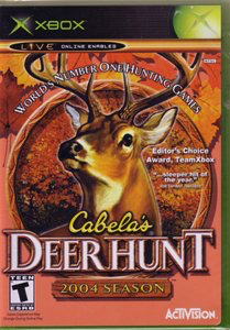 Cabela's Deer Hunt 2004 Season - Xbox - in Case