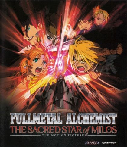 Fullmetal Alchemist: The Sacred Star of Milos - Blu-Ray
