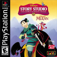 Disney's Story Studio Mulan - Playstation 1 - Complete