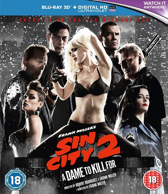 Sin City: A Dame to Kill For - Blu-Ray 3D