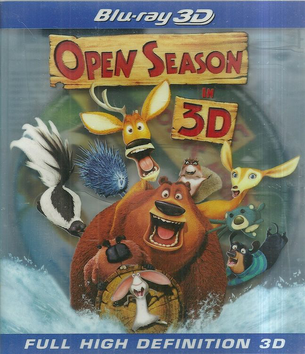 Open Season - Blu-Ray 3D