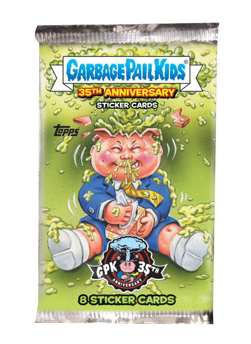 Garbage Pail Kids 35th Anniversary Series 2 Hobby Pack