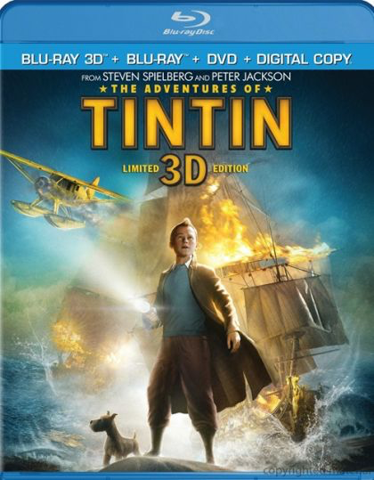 Adventures of Tintin - Blu-Ray