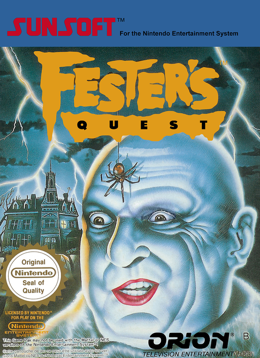 Fester's Quest - NES - Loose