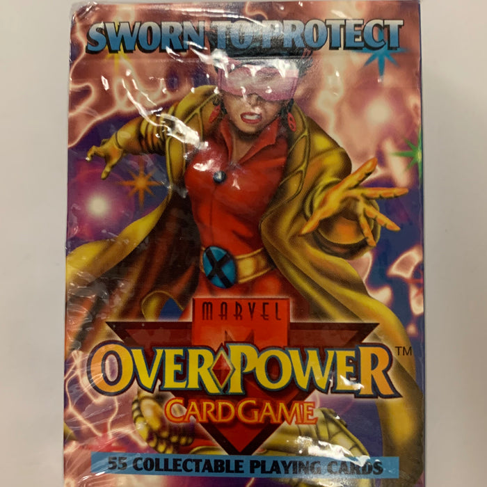 Marvel Overpower - Sworn to Protect Starter Deck - Sealed