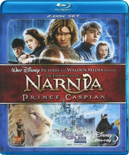 Chronicles of Narnia: Prince Caspian - Blu-Ray