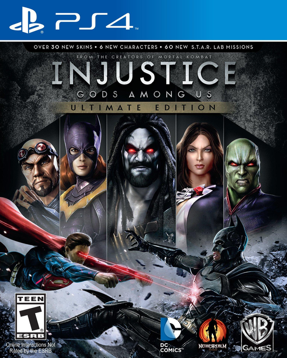 Injustice - Gods Among Us Ultimate Edition - Playstation 4 - in Case