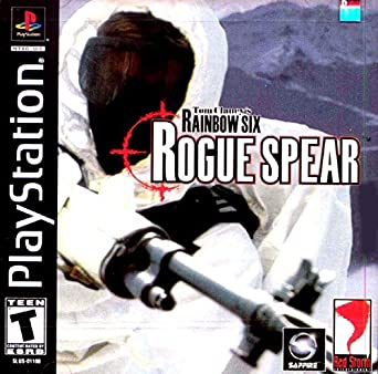 Tom Clancy's Rainbow Six Rogue Spear - Playstation 1 - in Case