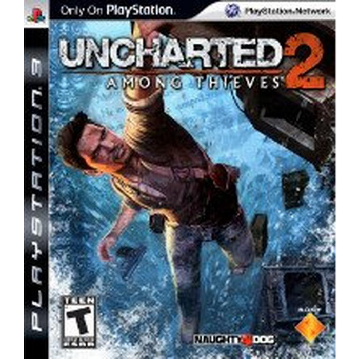 Uncharted 2 - Among Thieves - Playstation 3 - in Case
