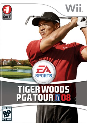 Tiger Woods PGA Tour 2008 - Wii - in Case