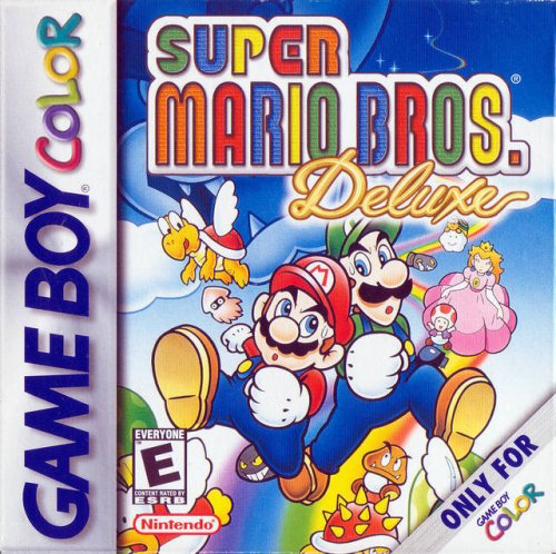 Super Mario Bros Deluxe Game Boy Color - Loose