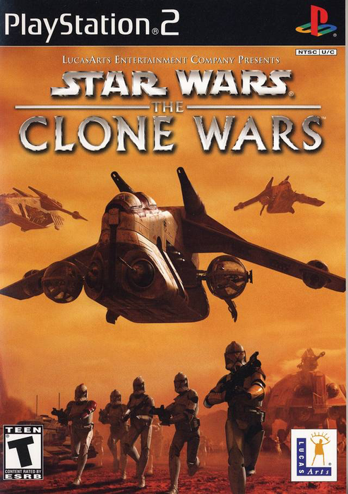 Star Wars the Clones Wars - Republic Heroes - Playstation 2 - Complete