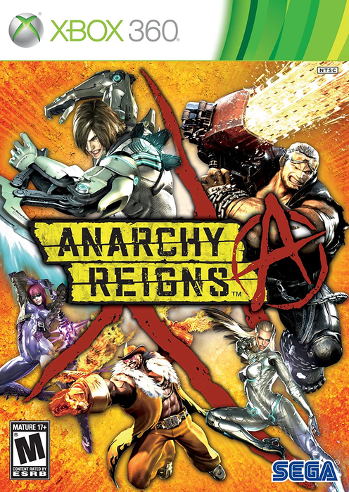 Anarchy Reigns - Xbox 360 - in Case