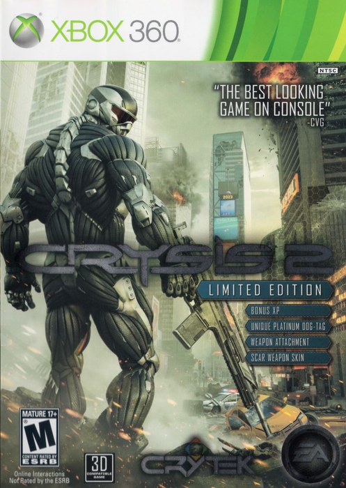 Crysis 2 Limited Editon - Xbox 360 - in Case