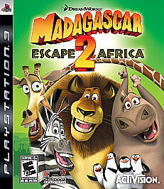 Madagascar - Escape 2 Africa - Playstation 3 - in Case