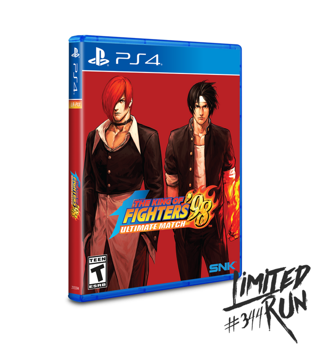 King of Fighters 98 Ultimate Match - Limited Run #344 - Playstation 4 - New
