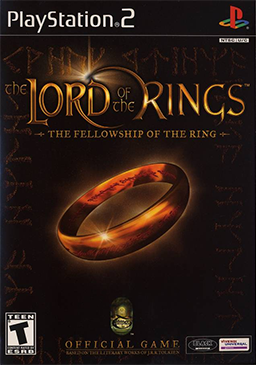 Lord of the Rings - The Fellowship of the Ring - Playstation 2 - Complete