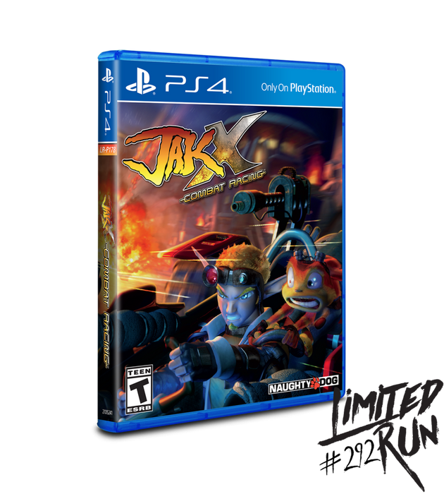 Jak X Combat Racing - Limited Run #292 - Playstation 4 - Sealed