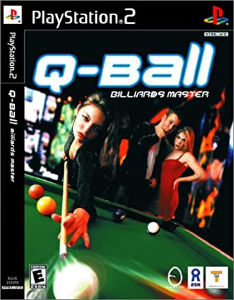 Q-Ball Billiards Master - Playstation 2 - Complete