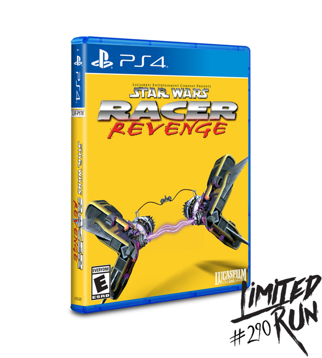 Star Wars - Racer Revenge - Limited Run #290 - Playstation 4 - Sealed