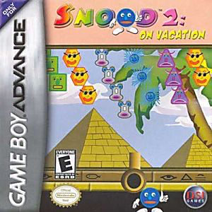 Snood 2 - On Vacation - Game Boy Advance - Loose